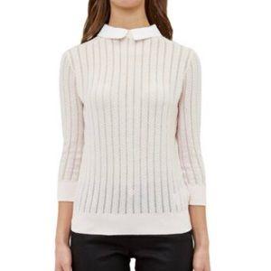 Ted Baker Scallop Collar Lightweight Sweater
